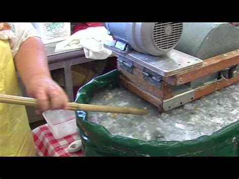 Handmade Paper Manufacturing Process - paper part one pulping