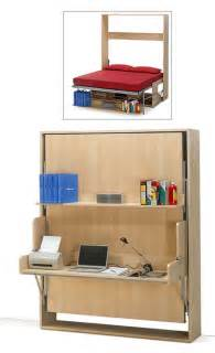 Folding Desk Bed 11 Space Saving Fold Beds For Small Spaces Furniture Design Ideas