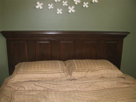 diy old door headboard old door headboard on a queen size bed photo modern