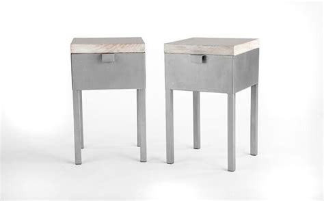 12 x 12 table hedgerow side table bronze