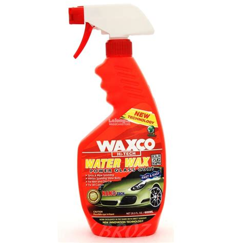 Waxco Car Accessories waxco hi tech water wax power glass c end 2 9 2019 1 15 pm