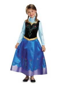 disney frozen halloween costumes girls frozen traveling anna prestige costume