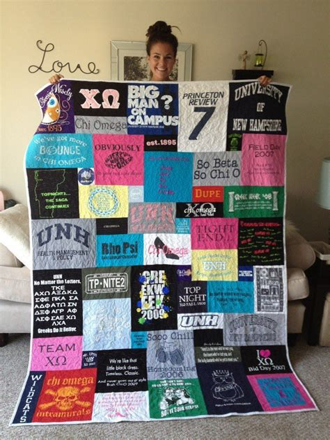 Race Shirt Quilt by What To Do With Your Race Medals Bibs And T Shirts