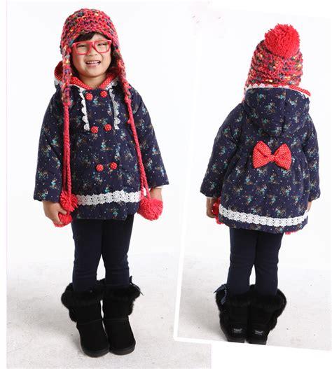Jaket Anak Kiddy Hoodie gadis mantel hangat bayi musim dingin lengan panjang anak jaket pakaian berlapis kapas anak anak