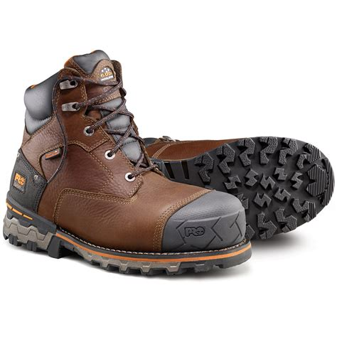 the boots mens timberland pro s boondock 6 inch composite toe work boots