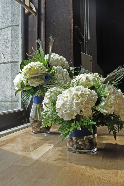 hydrangea centerpieces reception centerpieces pinterest