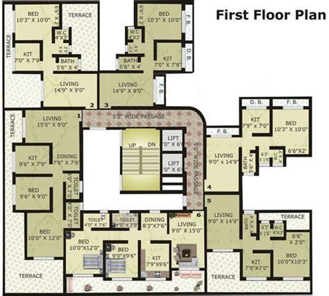 solitaire floor plans 870 sq ft 2 bhk 2t apartment for sale in cosmos group