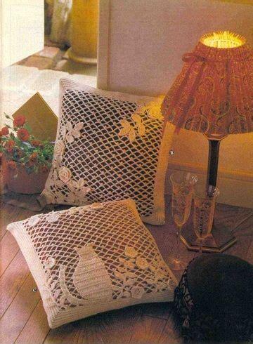 almohadones tejidos images  pinterest crochet