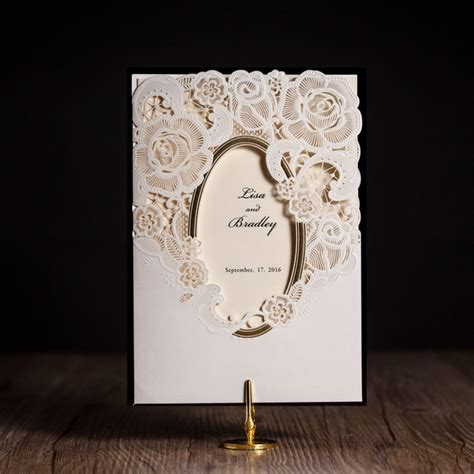 Wedding Invitations Greeting Cards by Wishmade Cw5185 White Royal Wedding Invitation Card