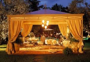 String Lights Curtain Gazebo Design Ideas Elsionare Homeexteriorinterior Com