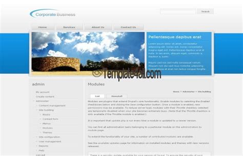 drupal themes glossary 3 modern premium business drupal themes for 2018