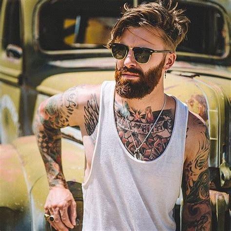 tattoo selfies instagram barba masculina estilos que est 227 o em alta para 2017