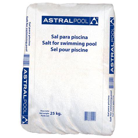 sacos de sal sal compacta para cloraci 243 n salina saco 25 kg poolaria
