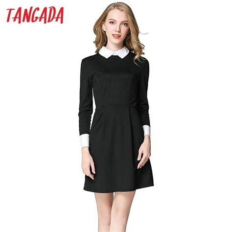 tangada winter school dresses fashion office black