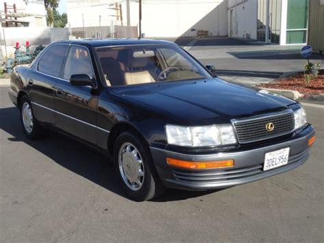 old car manuals online 1993 lexus ls head up display 1993 lexus ls400 auto v8 113k original miles moonroof loaded california car rare