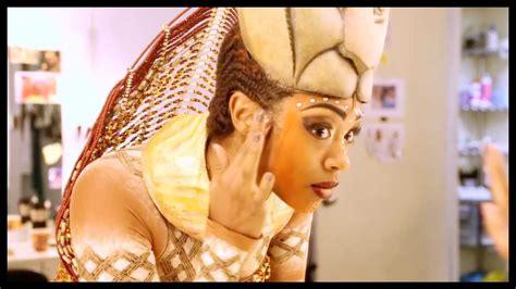 nala lion king makeup chantel riley takes pride in her transformation into nala