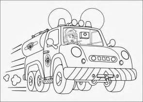 free fireman sam elvis coloring pages
