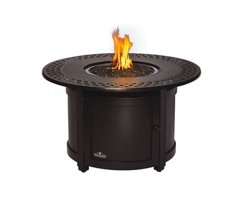 napoleon patio flame victorian circular bronze