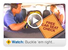 transportation code child safety seat click it or ticket this way to a child safety seat