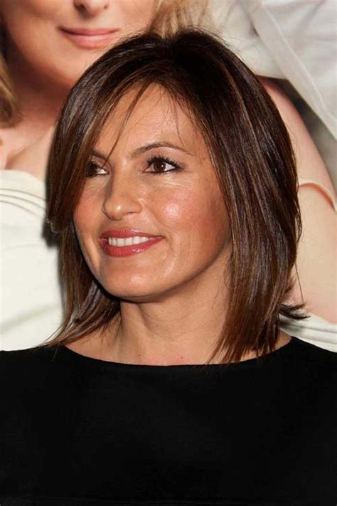 Mariska Hargitay Hairstyles by 20 Chic Medium Hairstyles For Hairstyles