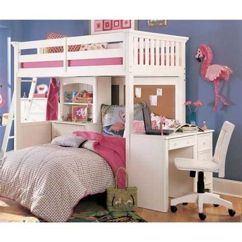 Bunk Bed With Desk On Bottom Pin By Bridget Shupp On Lyndi Ideas Pinterest
