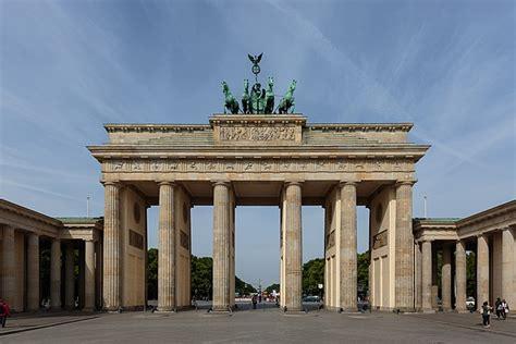 porta di brandeburgo mappa porta di brandeburgo attrazione berlino germania guide