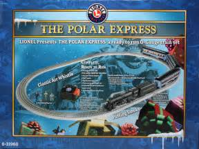 Polar express wooden train set lionel o 6 31960 the polar express