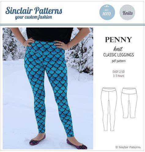 pattern leggings of woven death penny classic leggings pdf sinclair patterns