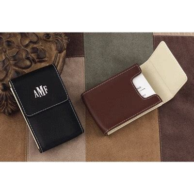 Mens Gift Cards - leather business card case mens gift