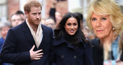 harry meghan camilla attacks prince harry s bride meghan markle new