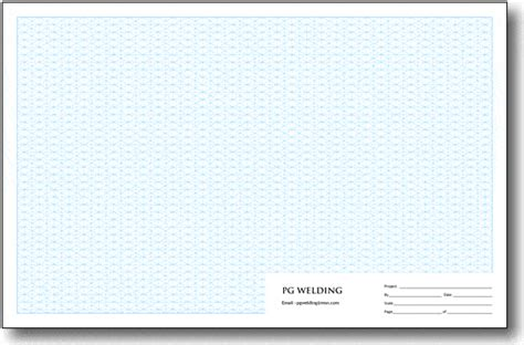 11x17 printable graph paper personalized isometric grid pads tabloid size 4th scale