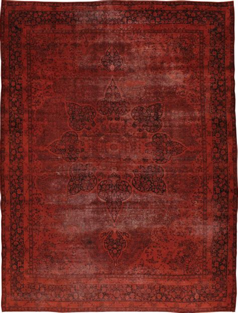 dyed distressed rugs antique dye mashad carpet no 18209 via galerieshabab distressed rugs dyed