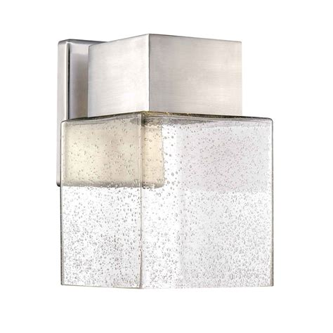 hton bay home decorators collection home decorators small exterior wall mount led lantern 28
