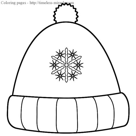 Winter Hat Coloring Page Timeless Miracle Com Usa Hat Coloring Pages Usa