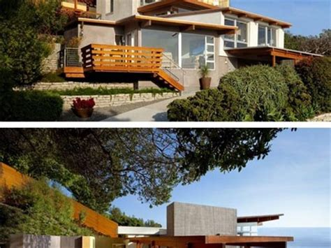 modern hillside house plans very steep hillside house plans modern hillside house