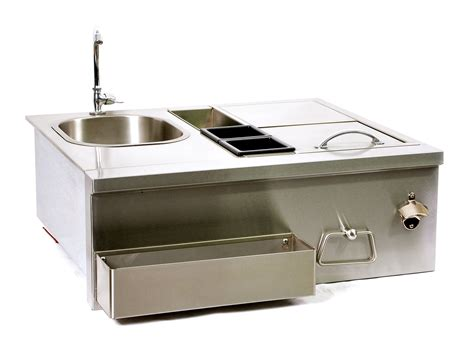 outdoor kitchen sink station outdoor kitchen sink station lynx 30 inch cocktail