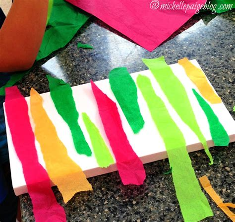 Thick Tissue Paper For Crafts - guest post tissue paper kid s craft by