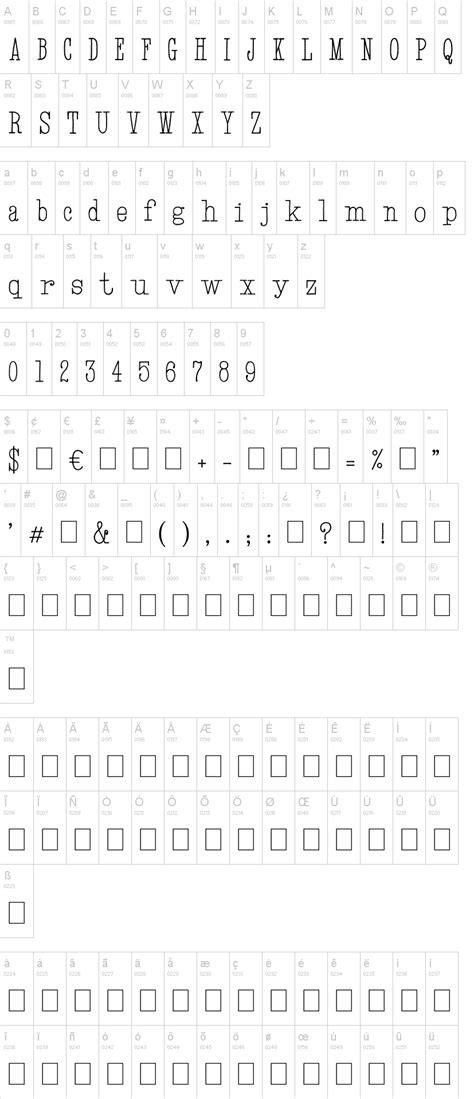 dafont typewriter hand typewriter font dafont com