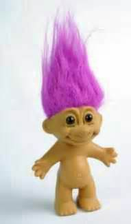 trolls with colored hair troll dolls mine had black hair troll hair color