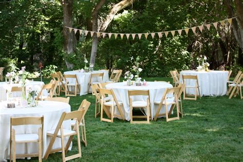 Backyard Wedding Reception Decoration Ideas Wedding Small Backyard Wedding Reception
