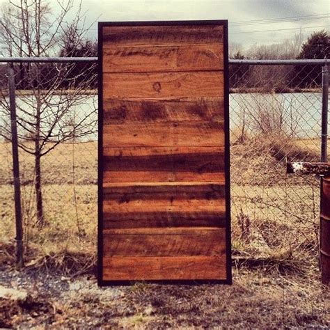 Sliding Metal Barn Doors Custom Made Sliding Door Barn Wood Steel By The Rusted Nail Custommade