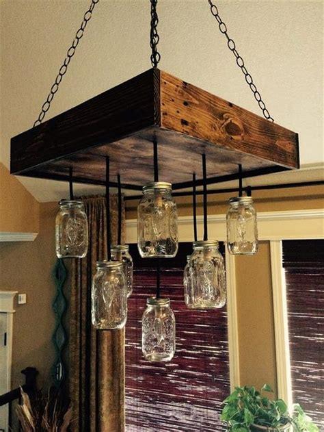 diy jar chandelier diy pallet chandeliers with jars recycled things
