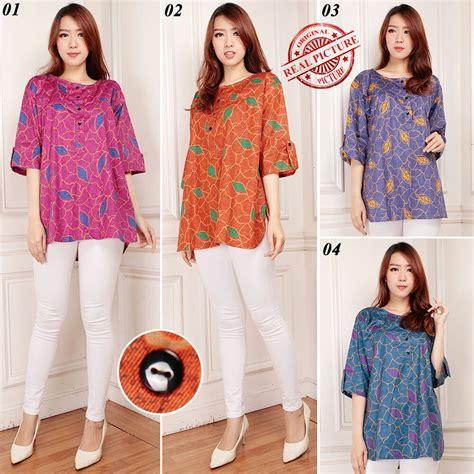 Baju Atasan Jumbo Murah Baju Wanita Murah Ukuran Jumbo Dbwg04 Cuma Rp 69 000