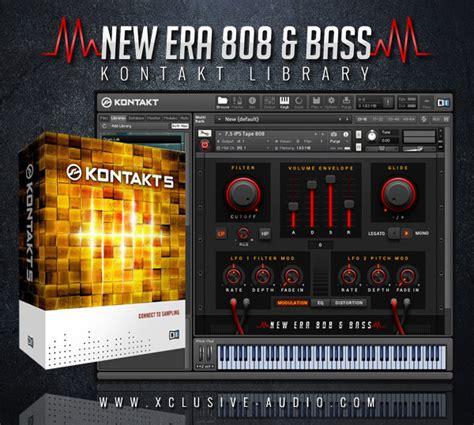 Sound Library Kontakt new era 808 bass kontakt library xclusive audio premium drum sles