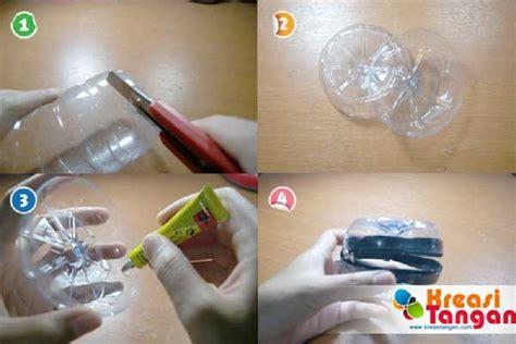 membuat boneka kerajinan tangan botol bekas berbentuk tas