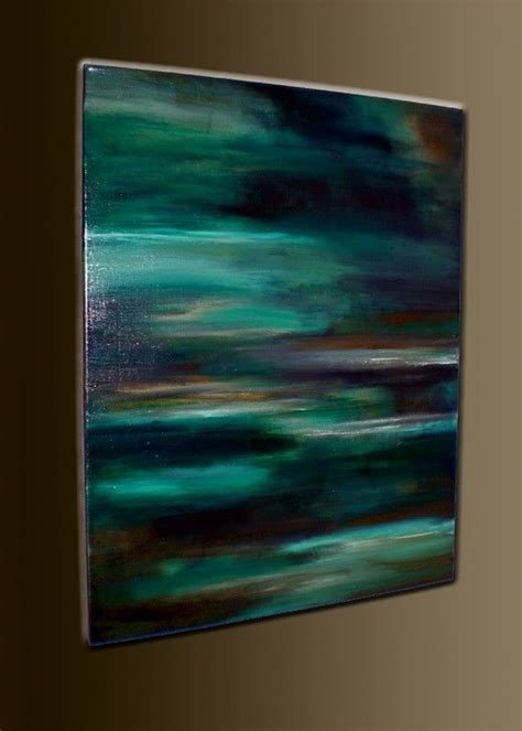 best wall color to showcase art tranquil waters 28 x 22 acrylic abstract painting