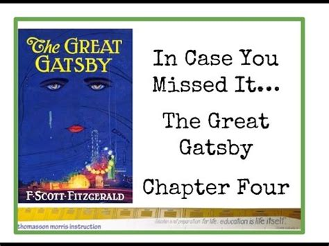 symbolism great gatsby chapter 4 in case you missed it the great gatsby chapter 4