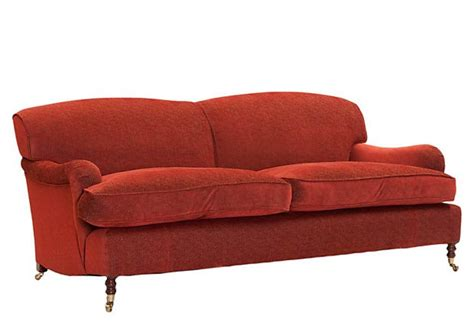 george smith sofa signature sofa large poppy