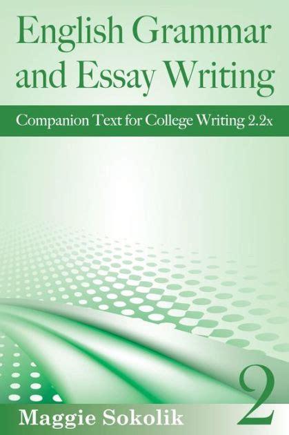 English Grammar And Essay Writing Workbook 2 College