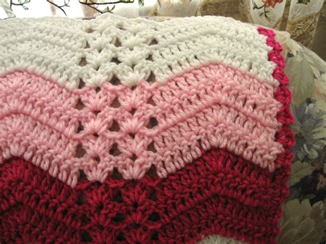 crochet ripple stitch creatys for